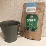 お気に入りのルイボスティー。.体調の関係で必ずノンカフェインのドリンクを飲むようにしています。.タイガールイボスティーの生葉タイプは、とれたての茶葉のとても良い香りがします。.…のInstagram画像