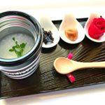 今日のひとりおうちランチ🍚💕スープジャーでお粥を作ったよ♬熱湯を入れて放置している間に勝手に出来ちゃう😏😁💓(๑•̀ㅂ•́)و✧※#お家ランチ #おうちごはん #お昼ごはん #簡単…のInstagram画像