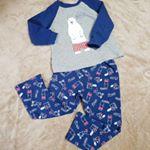 かわいいニットキルトのパジャマ💕息子もくまさんが、お気に入りです😊肌触りもいいし、暖かいみたいです!#nissen #キッズファッション #ニッセンキッズ #キッズ服 #キッズパジャマ…のInstagram画像