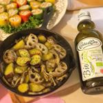 「コスタドーロ社」が作る無濾過エクストラヴァージンオリーブオイルをモニタープレゼントで頂きました✨有機栽培されたオリーブを圧搾後そのまま瓶詰めしていてオリーブ本来の味や香りが楽しめるということ…のInstagram画像