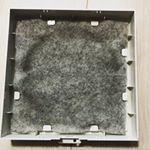 オーストラリア産 難燃性ウールフィルターでキッチンレンジフードを使って2ヶ月経過しました⌛️通気口フィルターに使ったのですが、通常のものより汚れにくかったです。1ヶ月前と汚れの状況はほぼ変わら…のInstagram画像