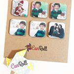..Can Roll🌟@canroll.Can Rollでまたマグネット作っちゃいました💗可愛い〜💗おしゃれ〜💗クリスマスのと、写真屋さんで撮影した写真🎂🤶前回家族に好…のInstagram画像