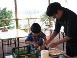 グランピングで食育体験♪親子でピザ&ポテチ作りの画像(25枚目)