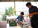 グランピングで食育体験♪親子でピザ&ポテチ作りの画像(27枚目)