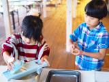 グランピングで食育体験♪親子でピザ&ポテチ作りの画像(20枚目)