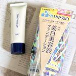 ..🐼ダイレクトホワイトdeW 美白美容液ファンデーション30g・¥1,600(税抜).【スキンケアからベースメイクまでこれ1本!】なんとなんと!洗顔後のお肌に直塗りできる…のInstagram画像