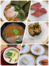 今日のお昼ご飯はカッパ寿司の画像(1枚目)