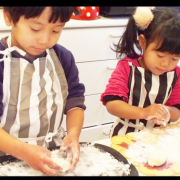 「お正月のおもち作り」【こどもの笑顔あふれるおいしい食卓風景】写真コンテスト!「年末年始を感じる食卓に、子どもの笑顔を咲かせよう♪」の投稿画像