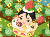今日はケーキの日 ~ 時には景気よくの画像(1枚目)