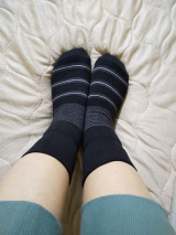 履くだけでかかとの保湿ケアができる「足うら美人しめつけないタイプ」の画像(5枚目)