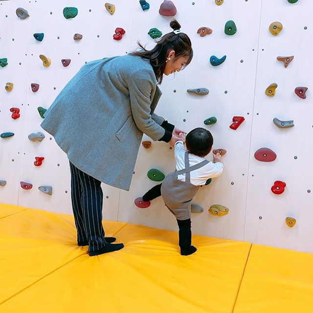口コミ投稿:.なかなか撮らないよね 母と子のshot♡.AEONの中にこういうスペース助かります⚑⚐.歩き…