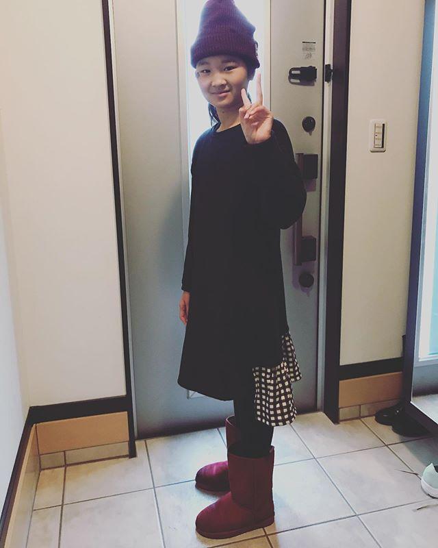 口コミ投稿:【あったか裏シャギーワンピース 160サイズ】・・#ニッセン の可愛いワンピース😍小…