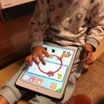 \学研の幼児ワークアプリ/知育アプリつかってみたよー💚ひらがな読んだりするのがあってうちの子にはちょっと難しかったけどちょっと難しい、もうちょっとでできそう!な感じで子ど…のInstagram画像
