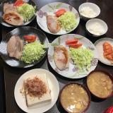 今日のご飯とダイソーで購入したV字ハンガーキャッチの画像(4枚目)