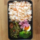 「明太風味の荒ほぐし鮭でお弁当作り!」の画像(8枚目)