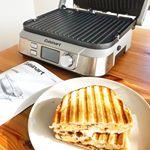 ...マルチグルメプレート🍳たこ焼きプレート付🐙@cuisine_art.今回は両面焼きでホットサンドを作ってみました🥪💕簡単に、すっごく美味しくできて感動🥺💗パン…のInstagram画像
