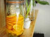 レモンライムでレモン酢作り♡の画像(1枚目)