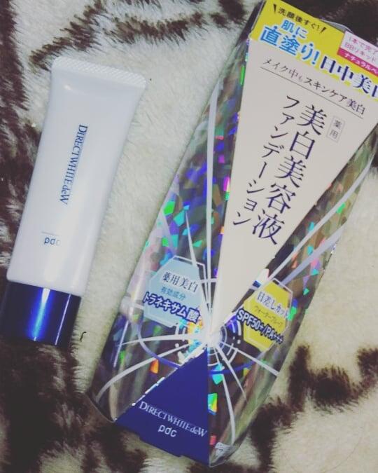 口コミ投稿:美白美容液ファンデーション洗顔後すぐ!肌に直塗り日中美白✨紫外線カットウォーター…