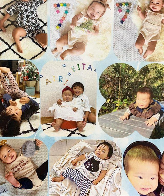 口コミ投稿:✔️みんなのシールでシールを作らせていただきました♬懐かしい1歳や2歳の頃の写真も久…