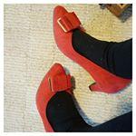 \パンプス/今年は雪が少なくてお出かけしやすい♡♡♡普段ならもうブーツじゃないと歩けないんだけど、今年はまだまだ大丈夫♫新しい靴ほしー…のInstagram画像