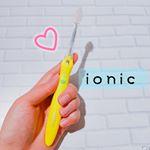 【愛用中❤❤🐹】..こんばんは!去年から使ってる、イオンの力で歯垢をゆるめておとす、画期的な歯ブラシ.@ionic.kissyou 【イオン歯ブラシ IONIC(アイオニック)…のInstagram画像