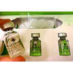 「生原液」高密度99.99%を実現した発酵熟成プラセンタお試しさせていただきました☺️.5mlの小さな小さな小瓶が可愛い常にフレッシュな状態で使用できるように5日分の小分け…のInstagram画像