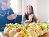 美活レシピ!青汁パウダーを使ったちぎりパンサンドイッチの画像(8枚目)