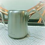..ハンドドリップ1杯専用の #珈琲考具 ワンドリップポット 。.沸騰したお湯を入れると90度くらいに下がった適温になり、コーヒーを美味しく淹れることができます。.お湯…のInstagram画像