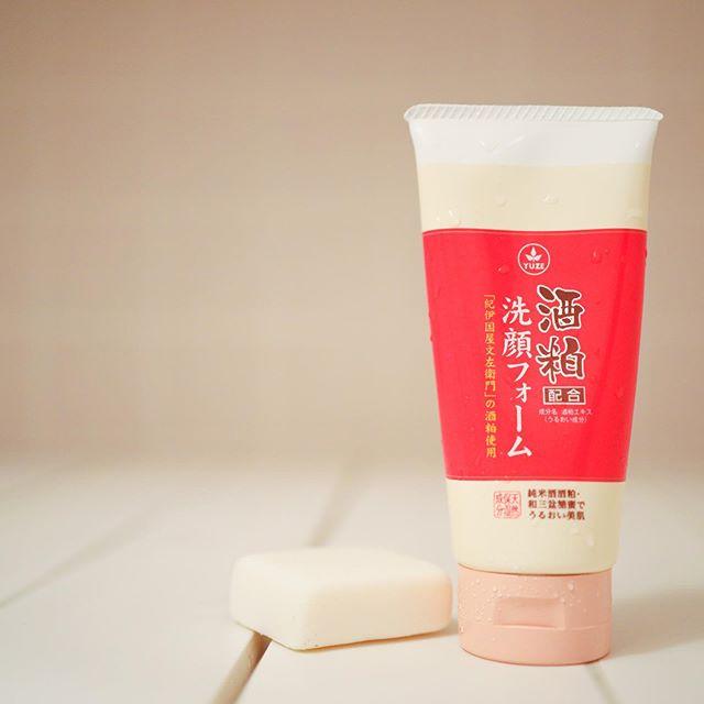 口コミ投稿:ユゼ 酒粕配合洗顔フォームNお試しさせてもらいました✨.酒粕の化粧水や洗顔料が好き…