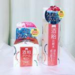 ワフードメイドシリーズ酒粕化粧水と酒粕クリーム日本酒を作る際に出る副産物、酒粕を使用した化粧水とクリームです。熊本県河津酒造の酒粕から抽出した、オリジナルの酒粕エキスを配合。昔…のInstagram画像