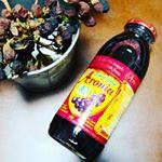 美容に良いらしいオーガニックアロニアフルーツジュースをお試し~😍❤️❤️❤️..ブルーベリーの5倍のポリフェノール入りだって!✨✨✨..これは良さそう~😍❤️❤️❤️..1日に…のInstagram画像