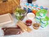 「朝食は自分で作って楽しい♪絶品ローストビーフバーガー【ファームグランピング京都天橋立】」の画像(4枚目)
