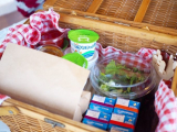 「朝食は自分で作って楽しい♪絶品ローストビーフバーガー【ファームグランピング京都天橋立】」の画像(3枚目)