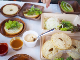 「朝食は自分で作って楽しい♪絶品ローストビーフバーガー【ファームグランピング京都天橋立】」の画像(11枚目)