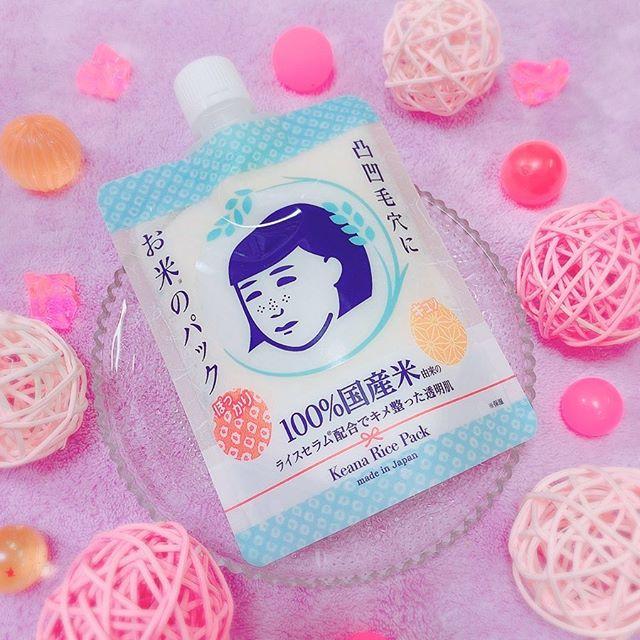 口コミ投稿:#毛穴撫子お米のパック・#石澤研究所 様より販売されている毛穴撫子シリーズの「#洗…