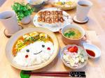 *.#麻婆豆腐丼 と#餃子 でした👹恵方巻作れなかった😂😂食べたいから今度作ろうかな🥺.餃子は高タンパクなマッスル餃子🥟美味しかった🤤💕...#夜ごはん…のInstagram画像
