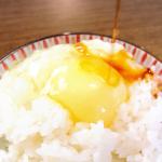 朝からマックスハイテンション😌💕北海道水芭蕉米たまごかけごはんセットを開封✨.日本一幸せな鶏の卵で作る、卵かけご飯美味しすぎたよ💖💖💖.クリーム色の黄身は濃厚で、もうたまらない美しさ✨…のInstagram画像