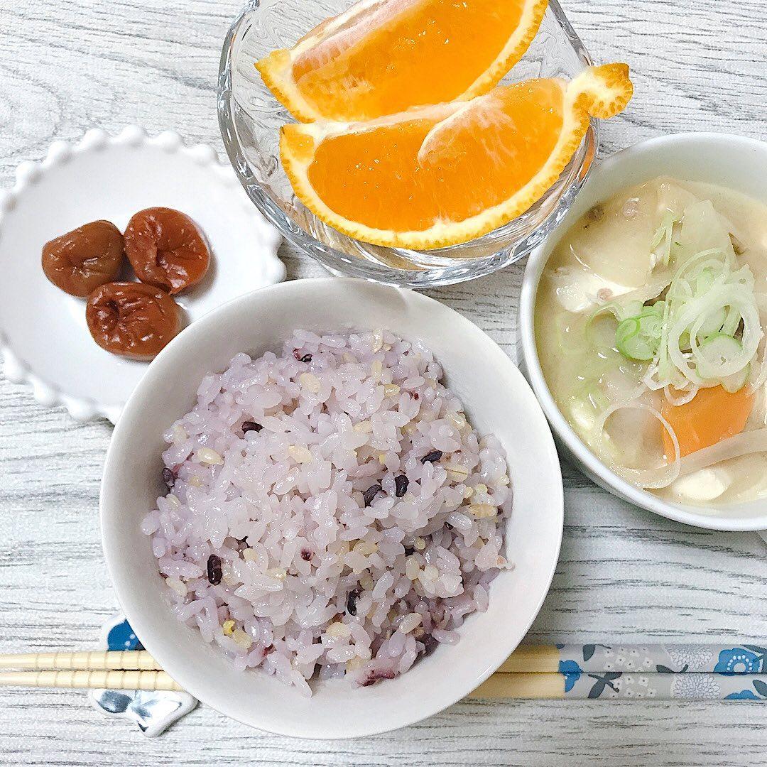 口コミ投稿:𓂃✍︎\北海道玄米雑穀/今日の夕御飯は「北海道玄米雑穀」と白米を一緒に炊いて…