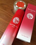 五島の名花玉之浦椿をモチーフに作られた化粧水。椿の鮮やかな赤と白のグラデーションのパッケージが素敵です✨使用感はさっぱりで、スッとお肌に染み込みます💓オレイン酸をたっぷりと含んだ五…のInstagram画像