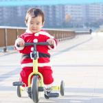 次男の大好きな三輪車❤️相変わらずペダル漕げないけど😂、長男に貸すのも嫌がるくらいお気に入り。#三輪車 #3月3日は三輪車の日 #アイデス #monipla #ides_fan #dbiked…のInstagram画像