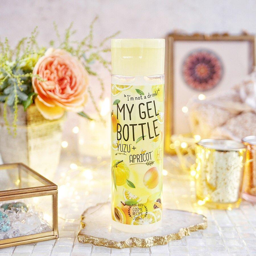 口コミ投稿:Cosme Recipe My Gel Bottle / Yuzu & Apricot200ml  1,100yen✄ -----------------…
