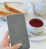朝食はプロテインだけの時もあるけど、基本は食べます❤︎朝はパン派です❤︎そして、最近はコーヒーより紅茶です。これ、スマートフォンが約4回フル充電できるモバイルバッテリーです。表面に温か…のInstagram画像