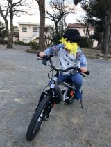 「続、自転車練習!4歳9ヶ月」の画像(2枚目)