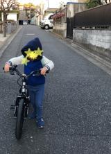 「続、自転車練習!4歳9ヶ月」の画像(4枚目)