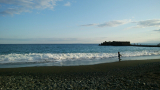 真冬の海はやっぱり寒かったの画像(1枚目)
