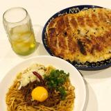 なべやき屋キンレイ お水がいらない汁なし担々麺の画像(2枚目)