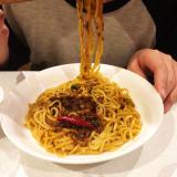 なべやき屋キンレイ お水がいらない汁なし担々麺の画像(6枚目)