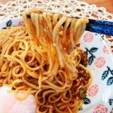 今日のランチ♪汁なし麻辣担々麺の画像(5枚目)