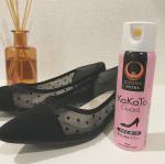 ..靴ずれ防止スプレー『かかとガード』をお試しさせていただきました👠.肌に直接スプレーすると特殊な皮膜を形成し、靴擦れの主な原因である靴との摩擦からお肌を守ってくれます✨…のInstagram画像