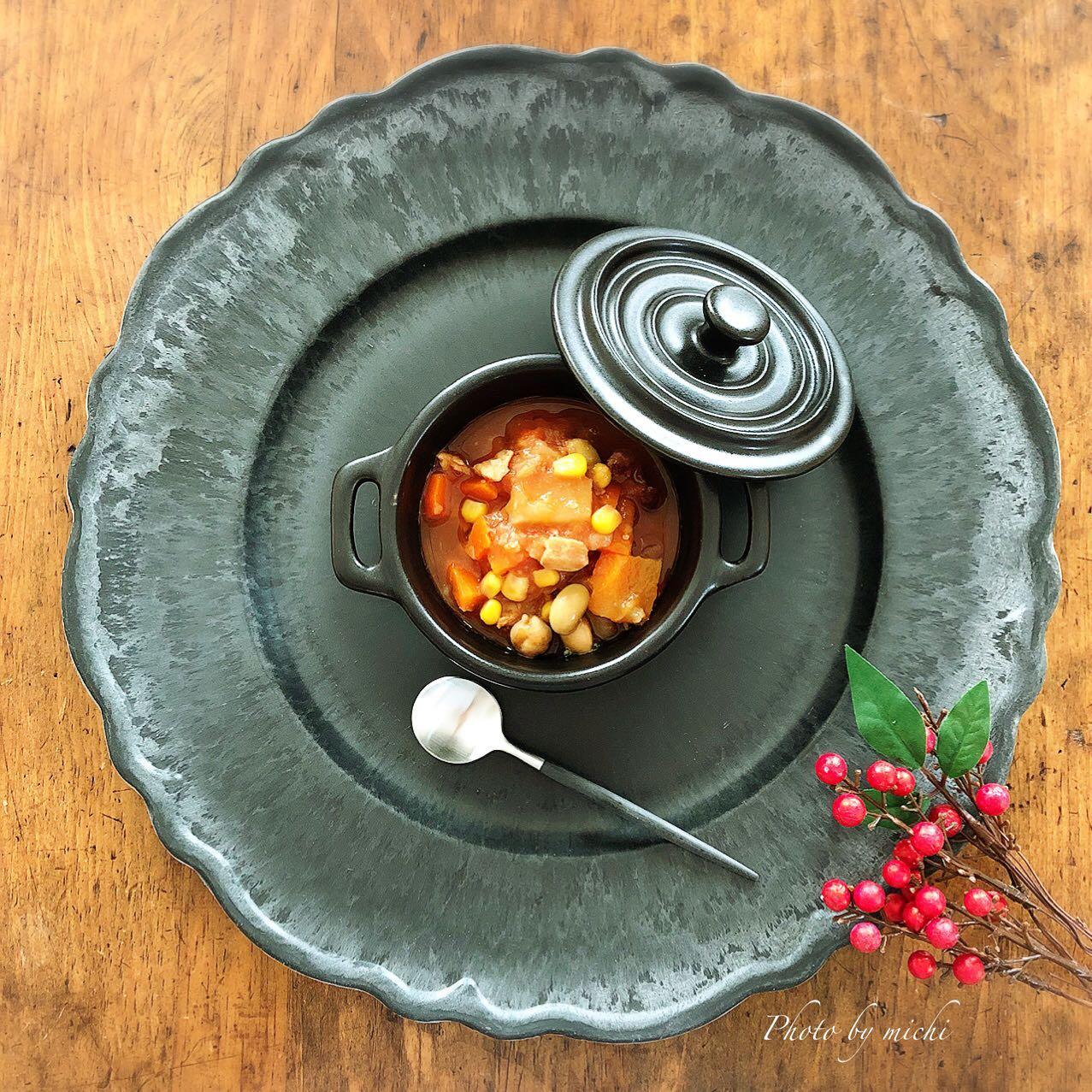 口コミ投稿:・・ダイエット中でも美味しく食べて満足♡レトルトだから簡単!「鶏肉とお豆のごろっ…